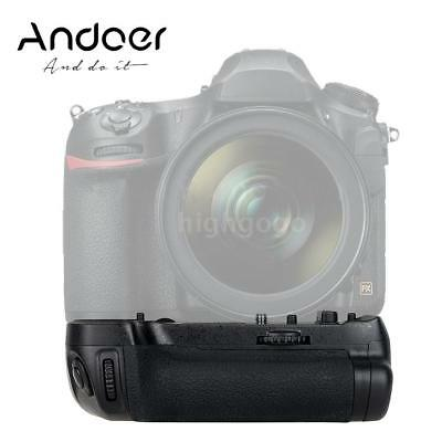 Andoer BG-2X Vertical Battery Grip Holder for Nikon D850 DSLR Camera Work D4B2