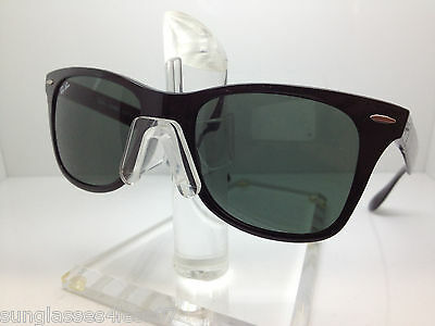 2f6e6c09a45 New Ray Ban Liteforce Rb 4195 601 71 52Mm Glossy Black green Lens Rb4195
