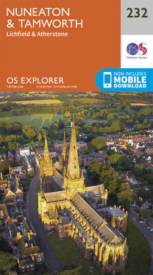 OS Explorer 232: Nuneaton and Tamworth