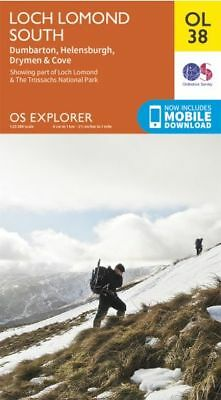 OS Explorer OL38: Loch Lomond South,