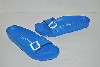 2be6e89c5b6b BIRKENSTOCK Essentials Madrid Slide Sandal Blue Eva Women Shoes Size 40  9 -9.5