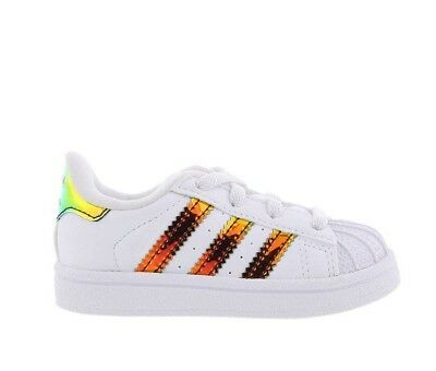 ADIDAS ORIGINALS SUPERSTAR Infant Trainers Children Unisex Shoes CP8940