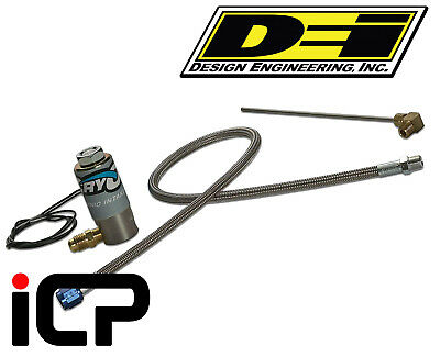 DEi Cry02 CO2 Single Purge Valve Kit inc. Solenoid