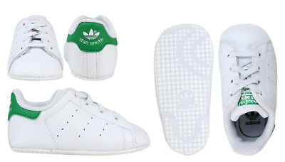 Adidas Originals Stan Smith Crib Shoes Baby Infant Girls Trainers - B24101