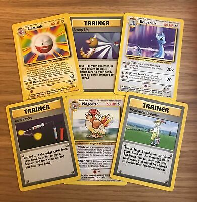 Pokemon Base Set Rare Cards. All Available In Various Conditions. FAST P&P!