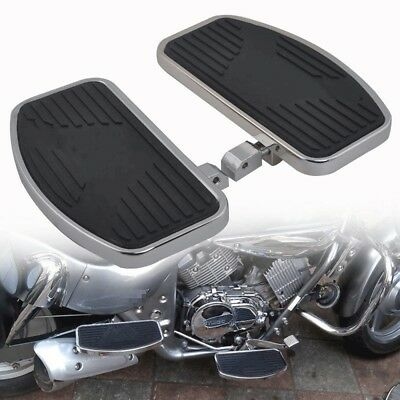 For Harley & Other Motorcycles Front or Rear Foot Boards Black Mini Floorboards