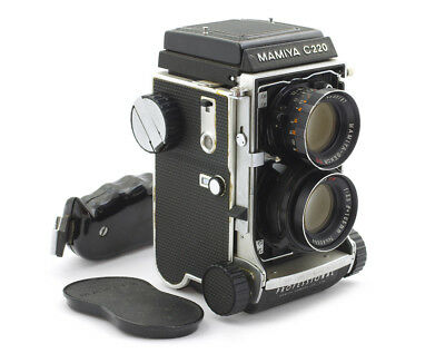 Mamiya C220 Professional TLR Camera #B31484 w/ Sekor DS 105 mm