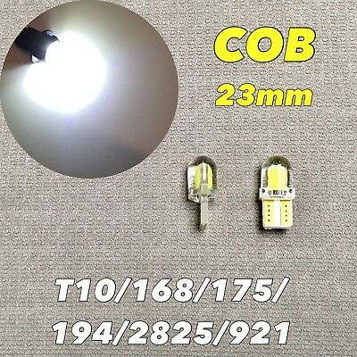 Canbus T10 COB LED White Bulb License Plate Light W5W 168 194 2825 W1 For FORD 2