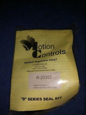New Motion Controls R-20355 D Series Seal Kit R20355