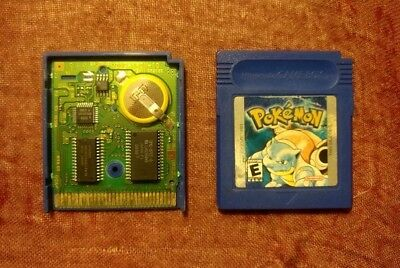 Pokemon: Blue Version (Nintendo Game Boy, 1998)--NEW SAVE BATTERY!!!