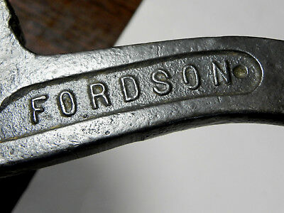 Antique Fordson Tractor tool #80 S Adjustable Wrench Keystone Buffalo NY vintage