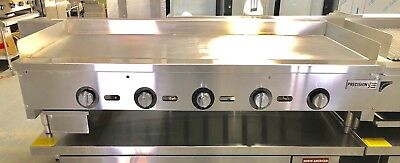 "NEW 60"" Griddle Thermostatic Flat Grill Thermostat Temperature Control Gas"