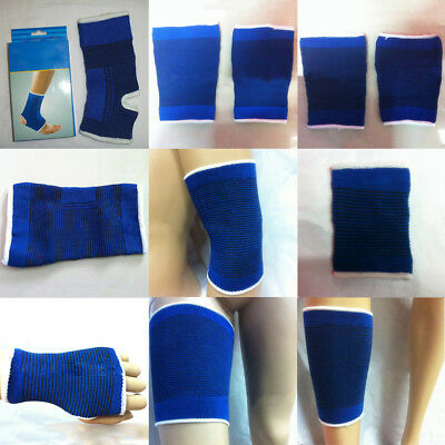 Ankle Support Brace Elastic Compression Wrap Sleeve Sports Relief Pain Foot Cool