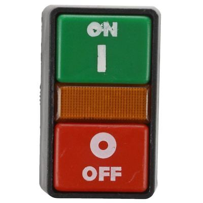 ON OFF START STOP Push Button with Light Indicator Momentary Switch Red Gr U2E0