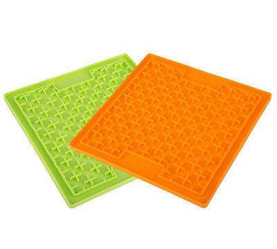 LICKIMAT Buddy Boredom Buster For Dogs Puppies & Cats Treat Game Toy Food Mat