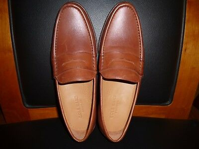 d043993ccdd Men s Cole Haan Aiden Grand II Penny Loafer Leather Shoes C22771 British  Tan 7.5