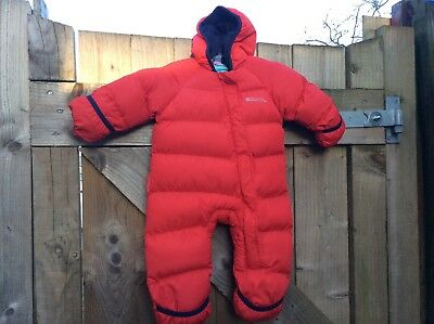 a73d5de534a8 MOUNTAIN WAREHOUSE FROSTY Junior kids Padded Snowsuit Red Boys 6 ...