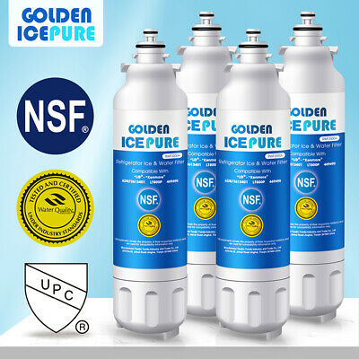 Fits LG LT800P ADQ73613401 Comparable Water Filter 4 Pack