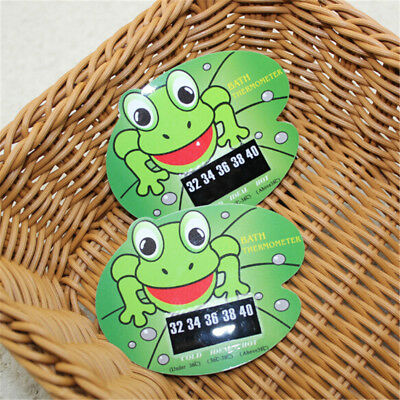 Infant Baby Temperature Water Thermometer Frog Bath Tub Temperature Tester SRAU
