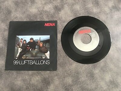"7"" Single - NENA - 99 Luftballons - 1983 CBS - A 3060"