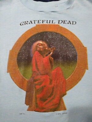 "Original 1975 Grateful Dead ""Blues for Allah"" t-shirt size small. PRICE REDUCED!"