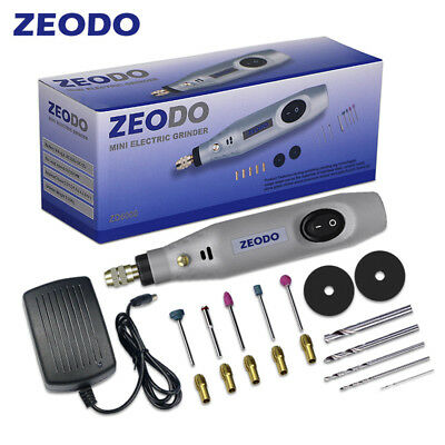 Electric Rotary Tool Speed Mini Drill Set Grinder Polisher Sander Engraving Pen