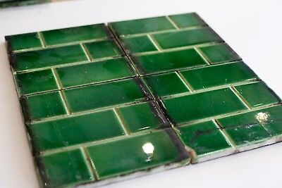 Original Edwardian Fireplace Tiles (0001)