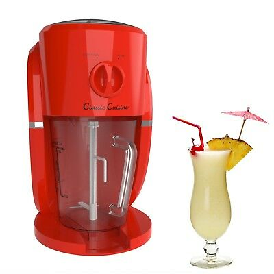 Frozen Drink Slushy Maker Summer Party Margarita Machine Crushed Ice Slush NEW
