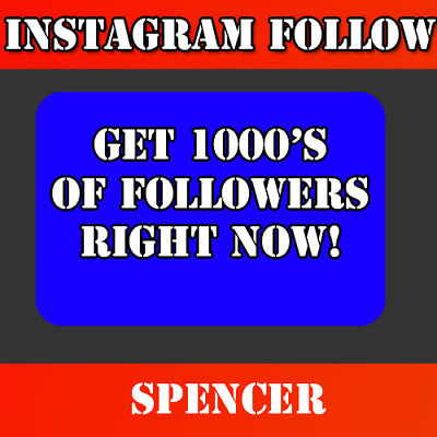 Instagram Service Follow | Cheap | High Quality |  | Guarantee