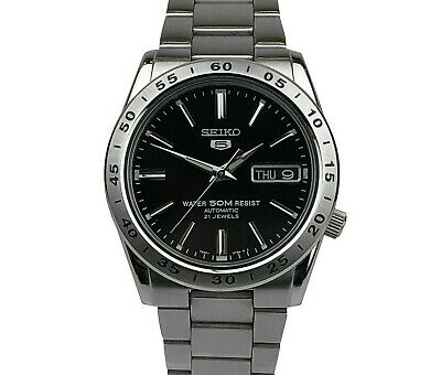 Seiko 5 SNKE01K1  Automatic Black Dial Stainless Steel Mens Watch SNKE01 £169