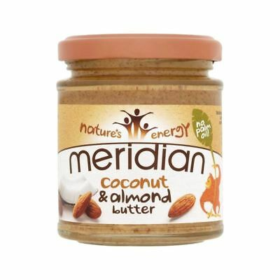 Meridian Coconut & Almond Butter 170g - Pack of 4