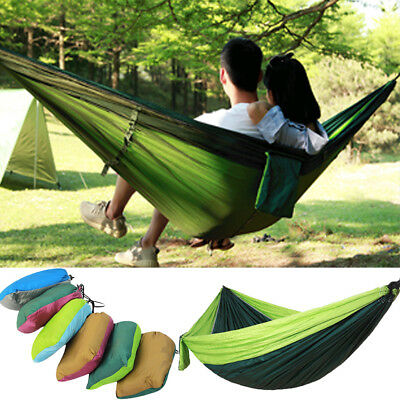 270x140cm Portable High Strength Camping Hammock Outdoor Travel Hanging Bed