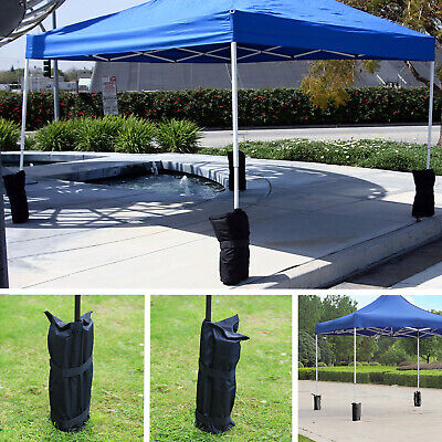 4Pcs Gazebo Pole Foot Leg Sandbag Secure Weight Marquee Market Stall Sand Bags