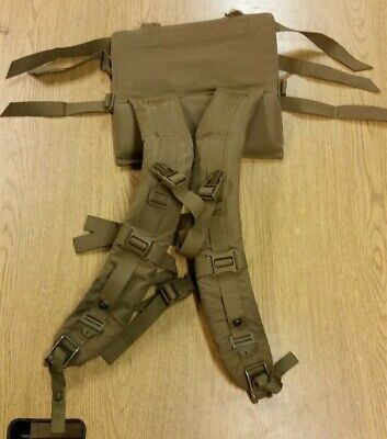 USMC FILBE Main Pack Shoulder Straps only >>Missing LBB<< Surplus Coyote Harness