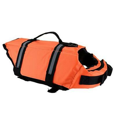Mogoko Life Jackets for Dogs,Life Jacket, Adjustable Buckles for Most Size Dogs