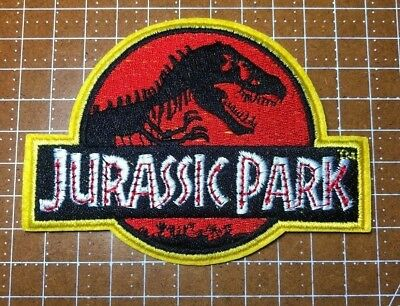 JURASSIC PARK RED /& YELLOW PATCH JPK17