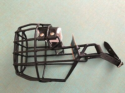Strong Metal Wire Dog Muzzle For Amstaff Pitbull Mastiff Bull Terrier