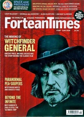 Fortean Times Magazine #367 June 2018 ~ New ~
