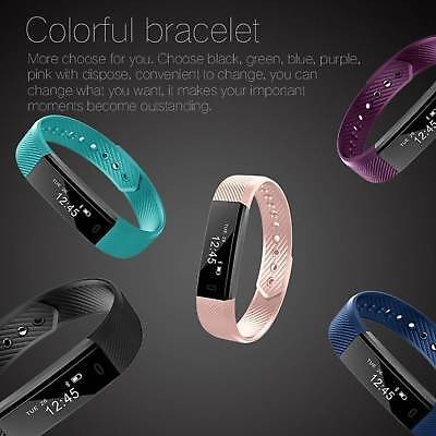 Latest Children Sleep Activity Tracker Smart Watch Pedometer For FitBit Style