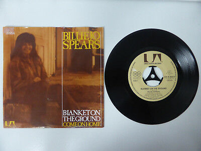 """Billie Jo Spears, Blanket On The Ground/ Come On Home, 7"""" Single, GER 1975"""