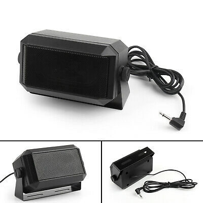 1PC 3.5mm Heavy Duty KES-3 External Speaker For Yaesu Kenwood Icom Car Radio US