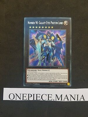 Yu-gi-oh! Number 90: Galaxy-Eyes Photon Lord - BLRR-EN033 - Secret (BLRR-FR033)