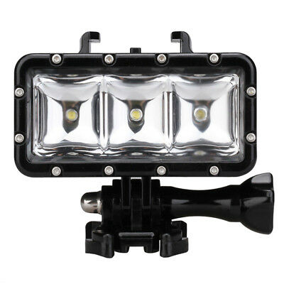 30M Waterproof LED Driving lamp video light for GoPro Hero 4 3+ 3 Sports Ca E2P0