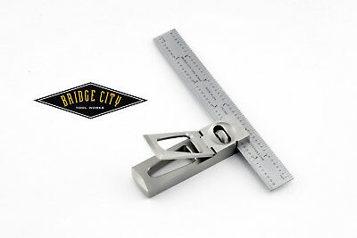 BRIDGE CITY TOOL Works DSS-6 Stainless Steel Double Square