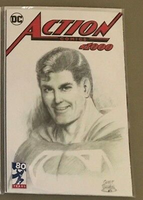 ACTION COMICS #1000 DYNAMIC FORCES CURT SWAN EXCLUSIVE VARIANT Superman DC