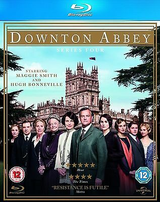 DOWNTON ABBEY ITV TV Series - 4 Complete Season 4 Collection+Extras New Blu-ray