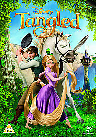 Tangled - 2011 Limited Edition Artwork & O-ring Brand New Sealed Region 2 UK DVD