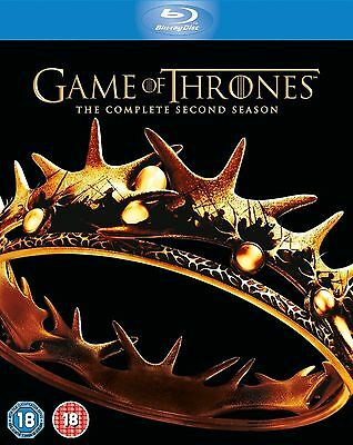 GAME OF THRONES Complete HBO TV Series 2 Box Set Collection + Extras New Bluray