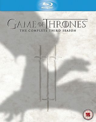 GAME OF THRONES HBO TV Series 3 Complete Third Season Box Set Collection Blu-ray