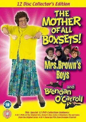 MRS BROWNS BOYS + BRENDAN O'CARROLL Collectors Edition 12 Disc New Region 2 DVD